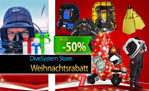 DiveSystem Weihnachtsangebote