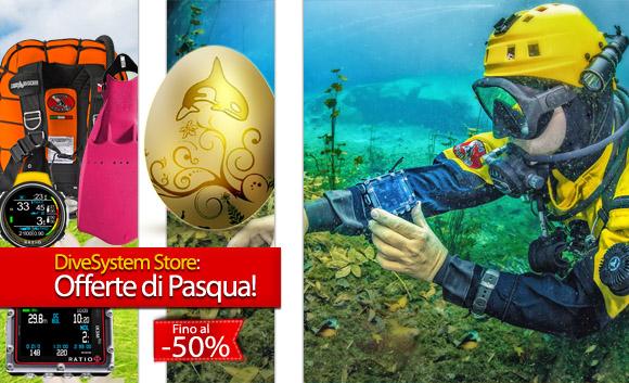 Le Offerte di Pasqua DiveSystem