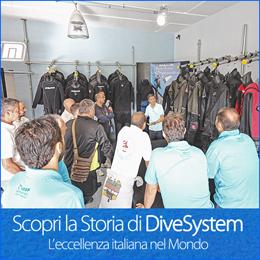 Scopri la Storia DiveSystem: L'eccellenza italiana nel Mondo