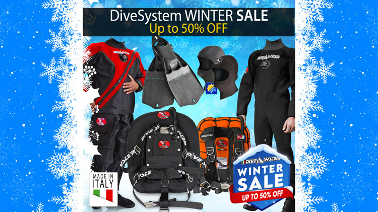 DiveSystem Winter Sale